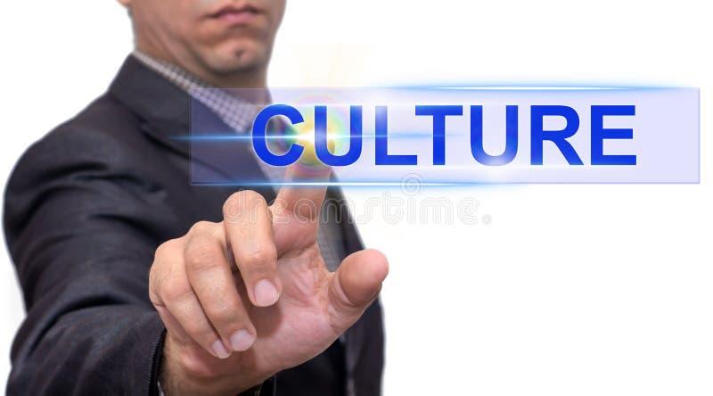 Kulturtext mit Geschäftsmann lizenzfreies stockfoto