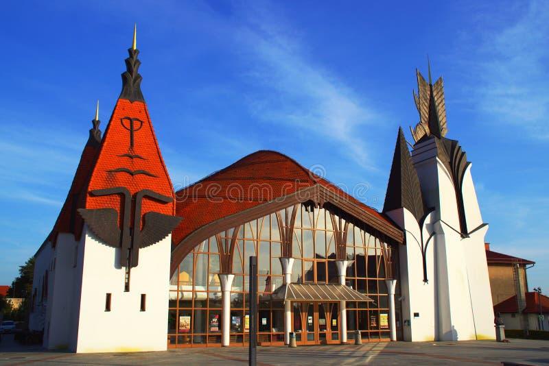 Kultury centrum, Lendava, Slovenia obrazy stock