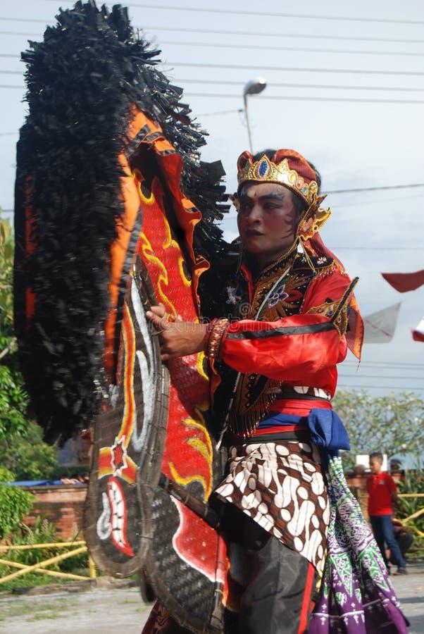 Kultury phothography Tradycyjny taniec wschodni Java zdjęcia royalty free