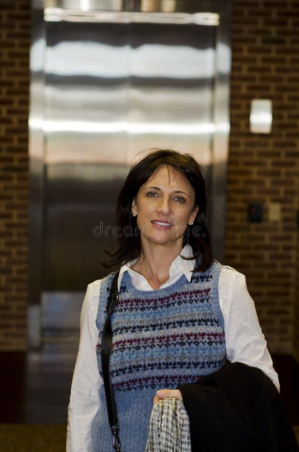 kuluarowa biznes kobieta obraz stock