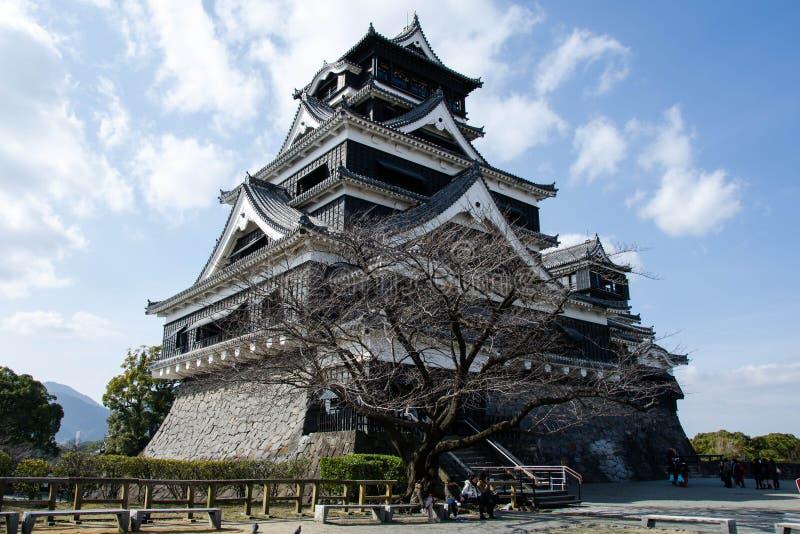 Kumamoto Castel lizenzfreie stockfotografie