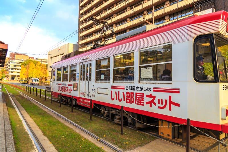 Kumamoto Japón - diciembre de 2014 imágenes de archivo libres de regalías