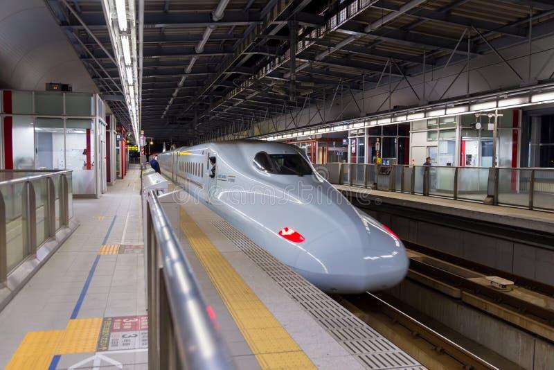 Kumamoto Japón - diciembre de 2014 foto de archivo