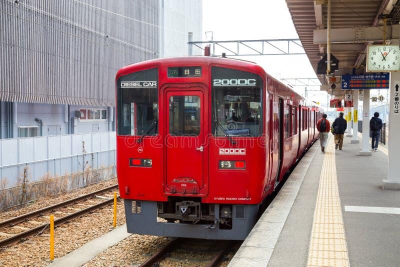 Kumamoto Japón - diciembre de 2014 fotografía de archivo libre de regalías