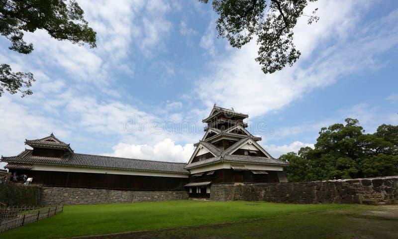 Kumamoto-Schloss stockfoto