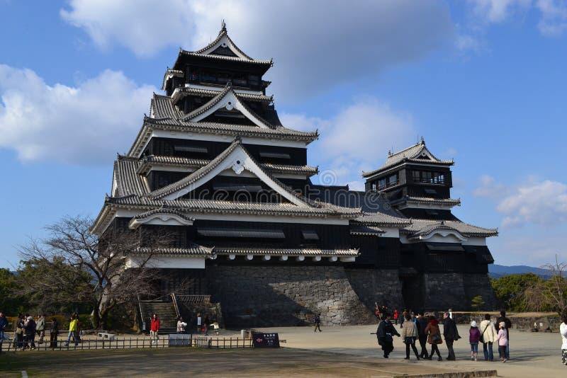 Kumamoto slott arkivfoto