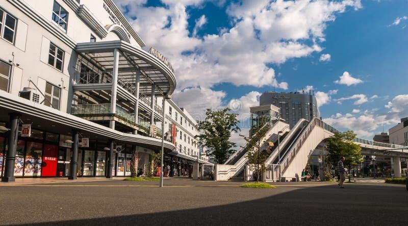 Kumamoto station royaltyfri fotografi