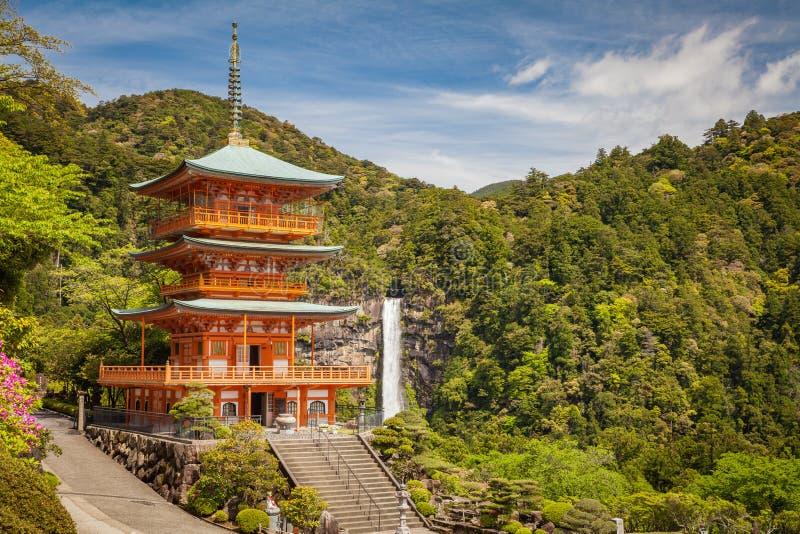 Kumano Nachi Taisha寺庙 库存照片