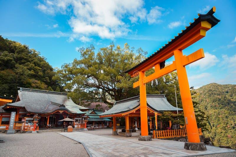 Kumano Nachi Taisha Grand Shrine em Wakayama, Japão imagem de stock