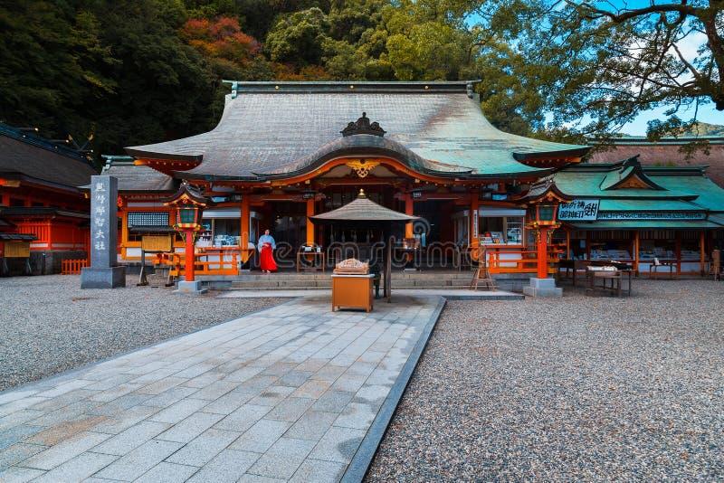 Kumano Nachi Taisha Grand Shrine in Wakayama, Japan lizenzfreie stockfotos