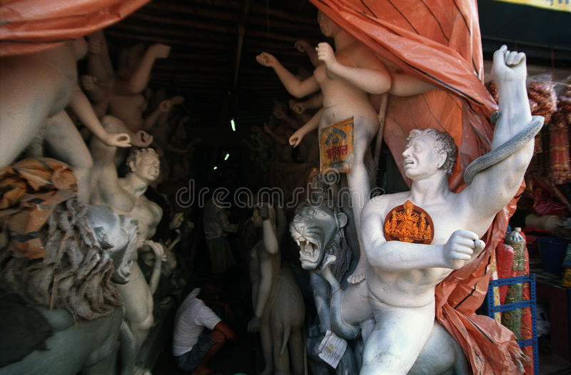 Kumartuli photo stock