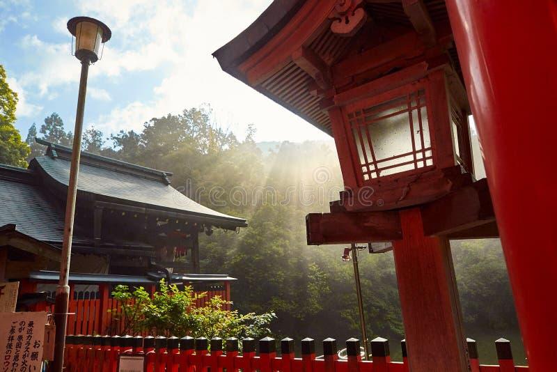 Kumatakasha w Fushimi Inari świątyni w Kyoto, zdjęcia royalty free