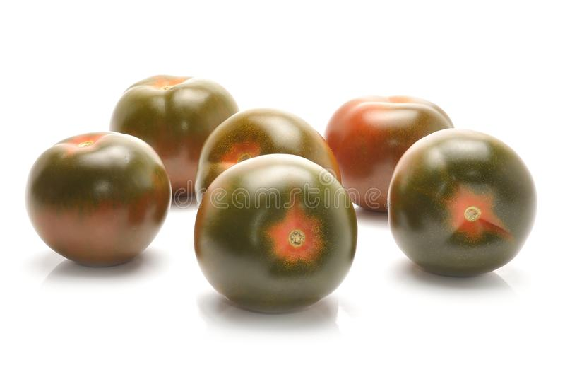 Kumato蕃茄 库存照片