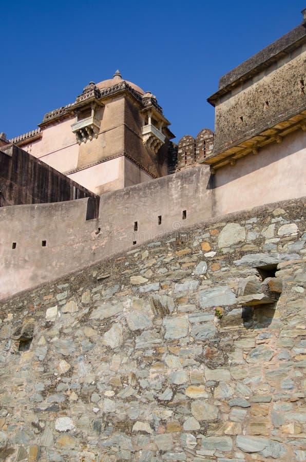 Kumbalgarh fort stock photo