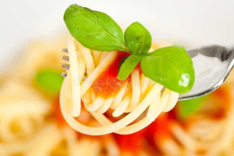 kumberlandu spaghetti pomidor zdjęcia royalty free