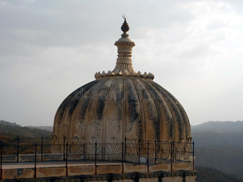Kumbhalgar堡垒 免版税库存图片