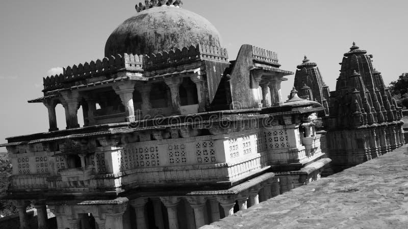 Kumbhalgarh Fort arkivbild