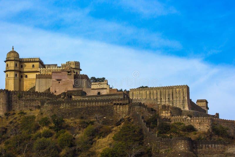 Kumbhalgarh Fort stockbild
