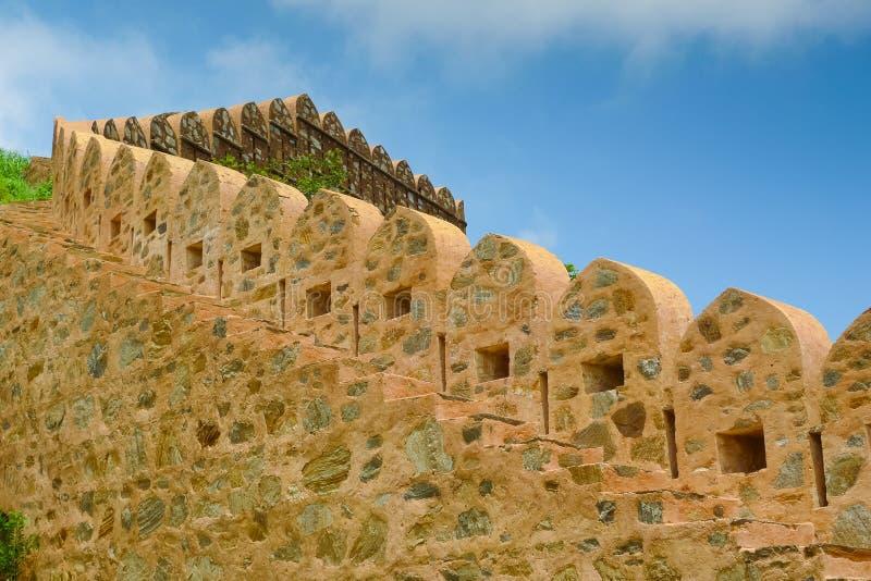 Kumbhalgarh Fort battlements stock image