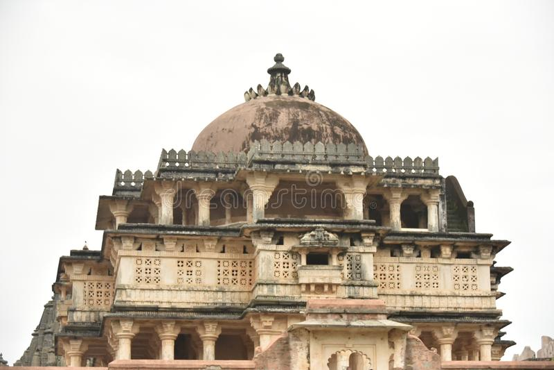 Kumbhalgarhfort en monumenten, Rajasthan royalty-vrije stock foto's