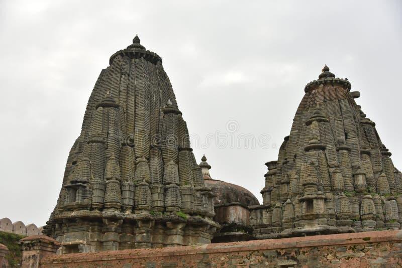 Kumbhalgarhfort en monumenten, Rajasthan stock afbeelding