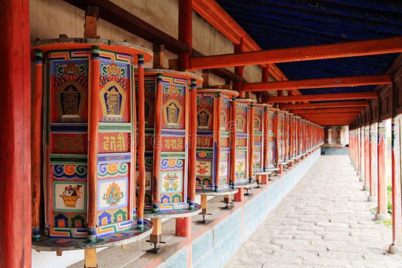 Kumbum修道院, taersi,在青海,中国 库存图片