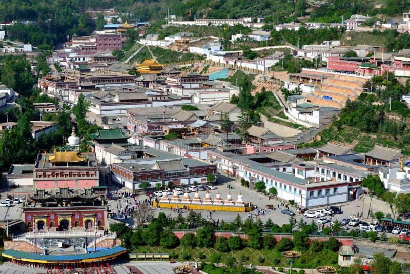 Kumbum-Kloster stockfoto