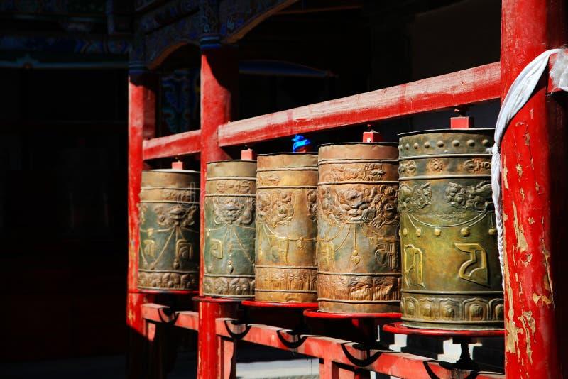 Kumbum monaster, taersi, w Qinghai, Chiny fotografia royalty free