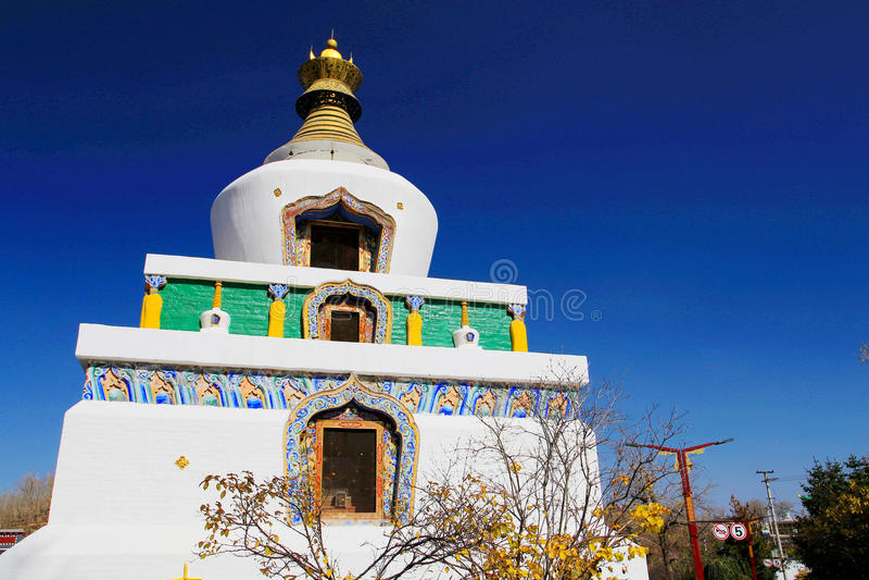 Kumbum monaster, taersi, w Qinghai, Chiny zdjęcia stock