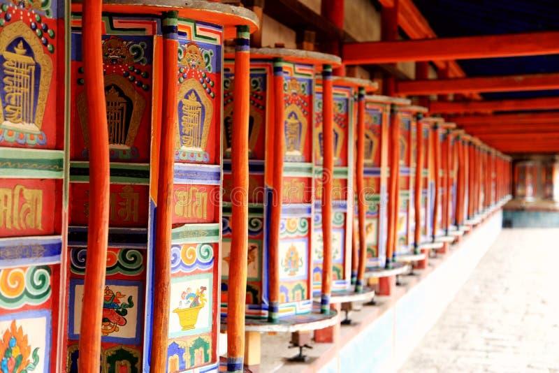Kumbum monaster, taersi, w Qinghai, Chiny zdjęcia royalty free