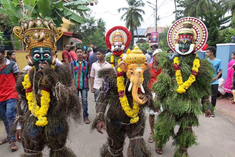 Kummatti Mahotsavam 2016 стоковые фотографии rf