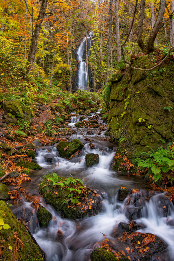 Kumoi-Wasserfall stockbilder