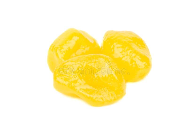 Kumquat amarelo secado imagem de stock