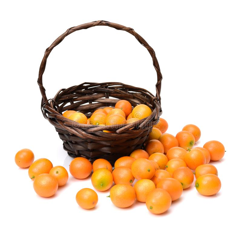Kumquat del dulce y del jugo imagen de archivo