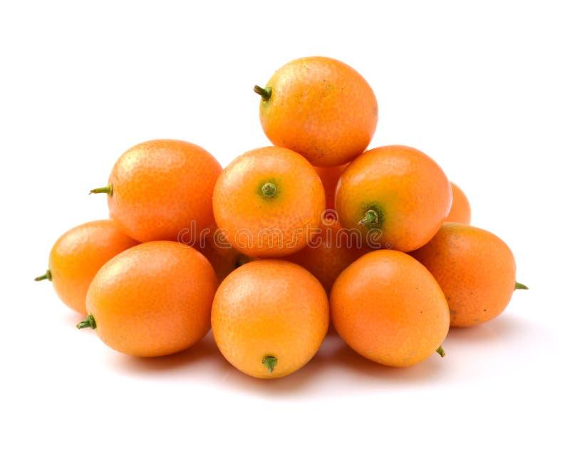 Kumquat fresco del dulce y del jugo foto de archivo libre de regalías