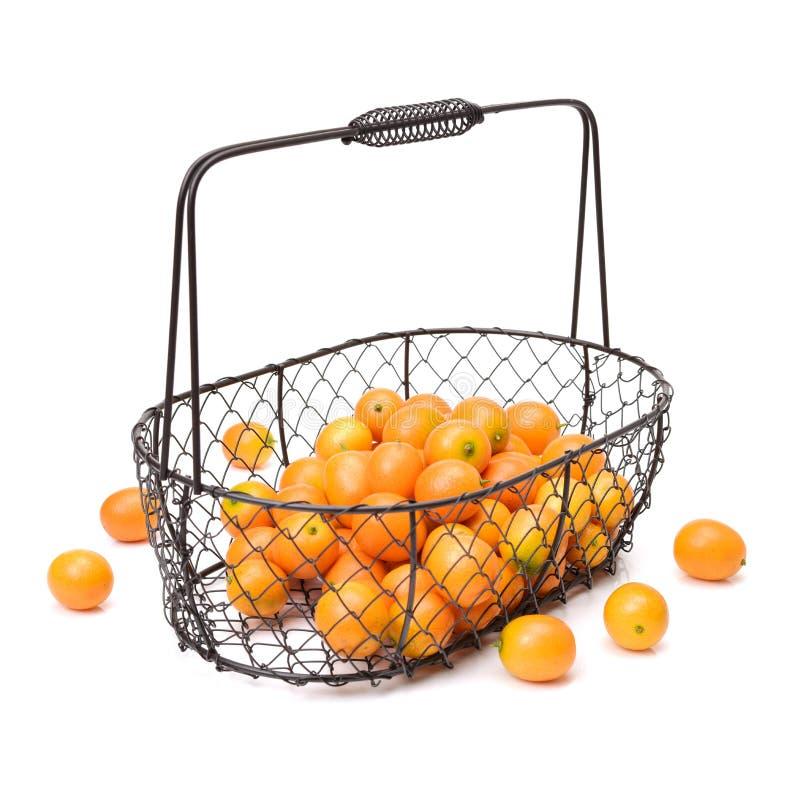 Kumquat fresco do doce e do suco imagem de stock