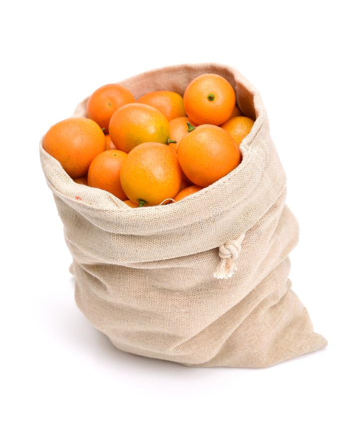 Kumquat maduro imagem de stock royalty free