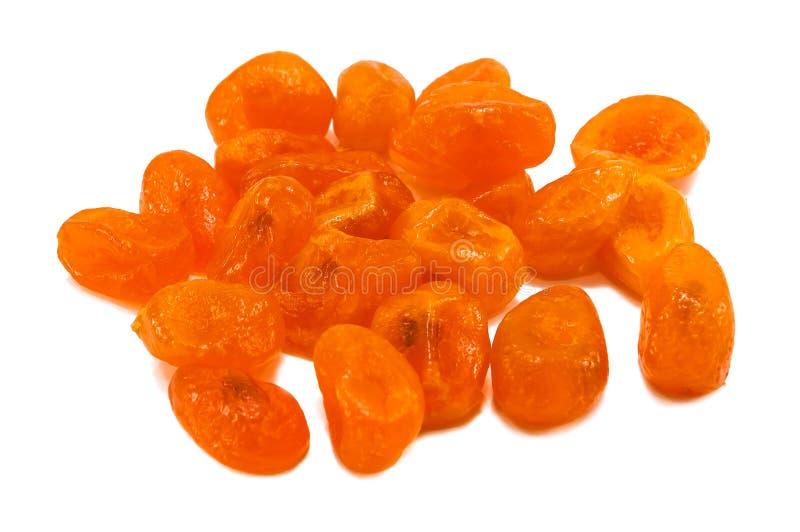 Kumquat secado isolado no branco imagem de stock royalty free