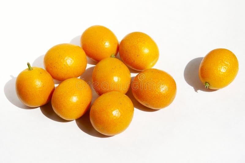 Kumquats royalty-vrije stock afbeeldingen
