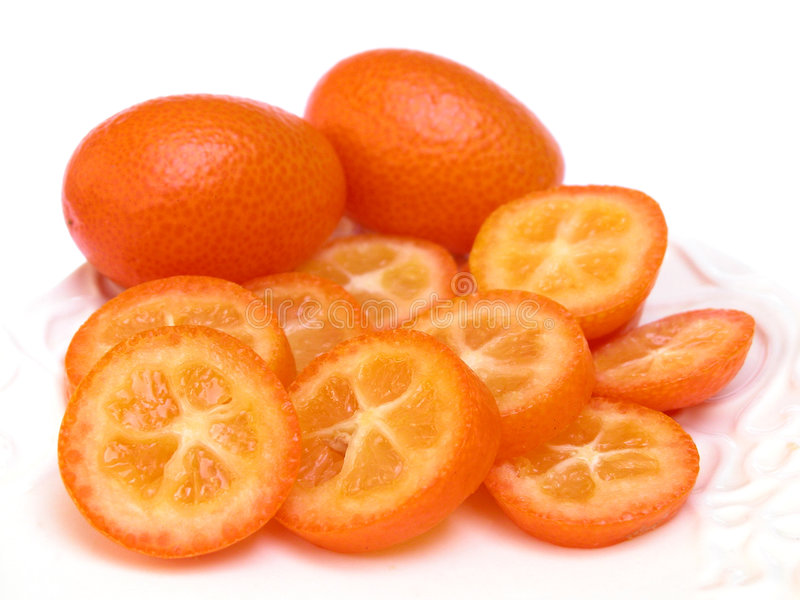 Kumquats fotografía de archivo libre de regalías