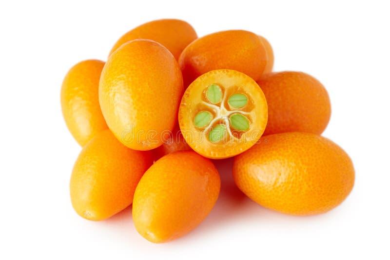Kumquats eller Cumquats arkivbilder