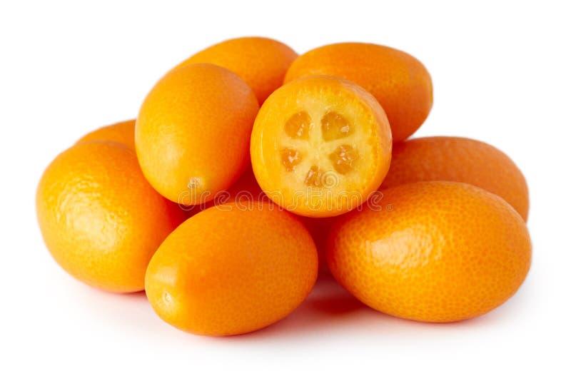 Kumquats eller Cumquats fotografering för bildbyråer