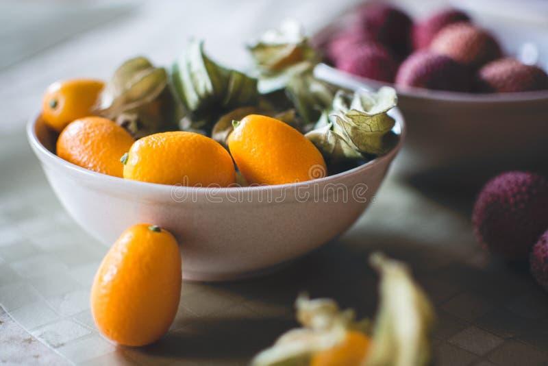 Kumquats And Litchi Free Public Domain Cc0 Image