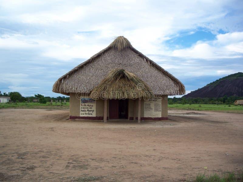 Kunà del ¼ di Museo Comunitario MurÃ, cultura Wanai-Mapoyo fotografia stock libera da diritti