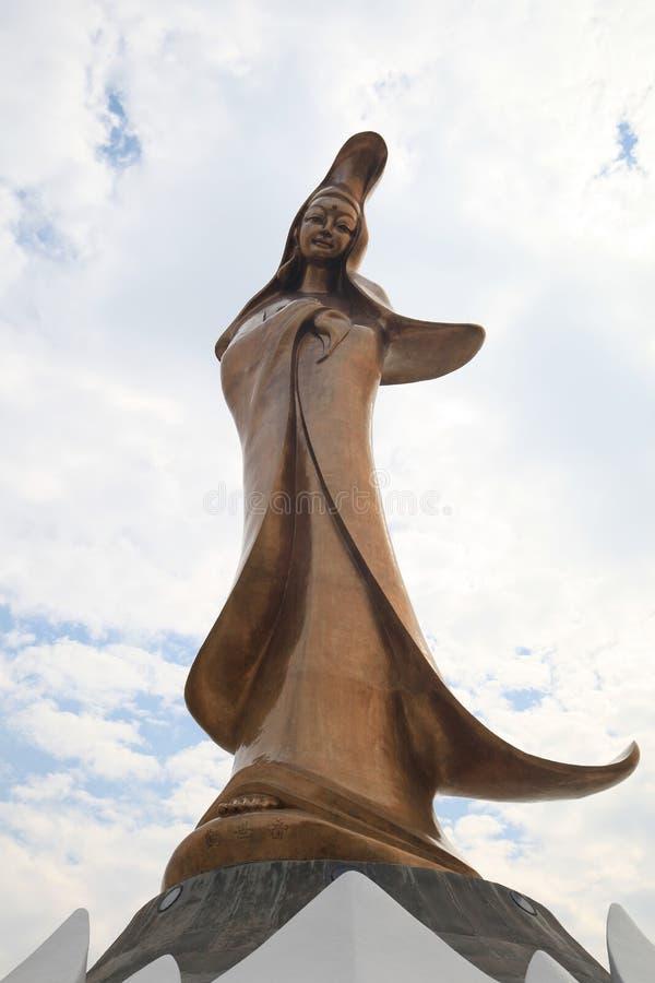 Kun Iam雕象在澳门 库存照片