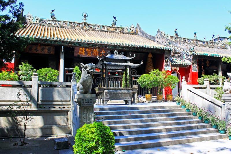 Kun Iam Temple, Macao, China fotos de archivo