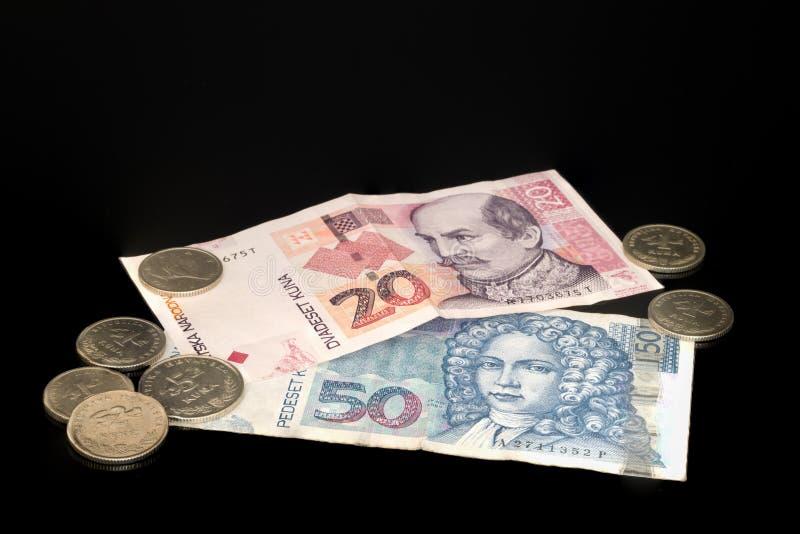 Kuna - Chorwacka waluta zdjęcia stock