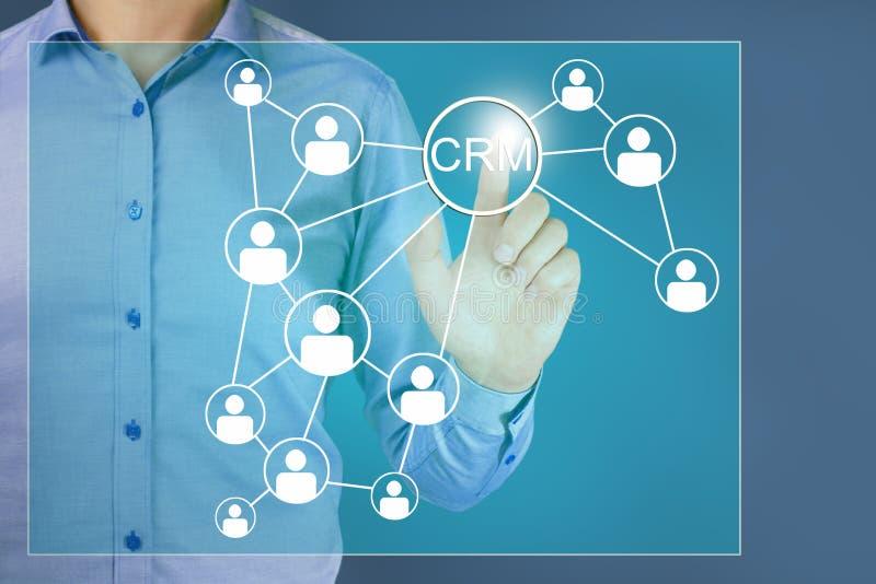 Kunden-Verh?ltnis-Management lizenzfreie stockbilder