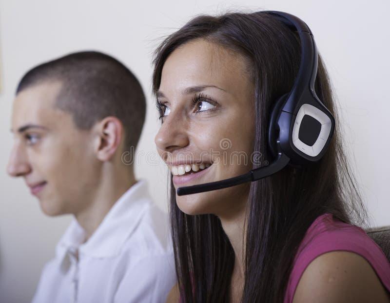 Download Kundendienst stockbild. Bild von abnehmer, paare, glücklich - 27729739