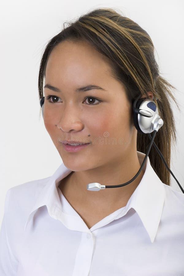 Kundendienst 4 stockbild